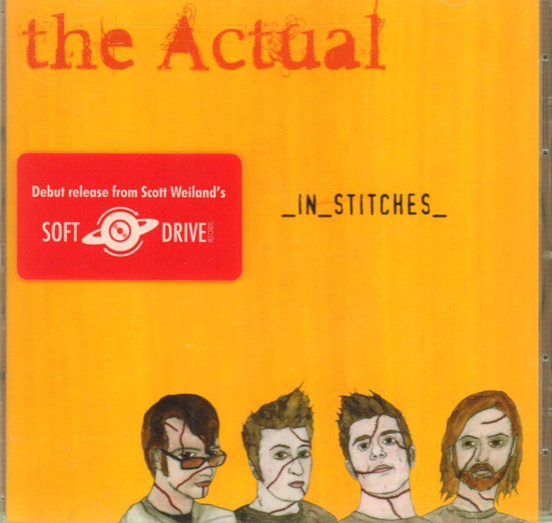 The Actual-In Stitches-CD Album