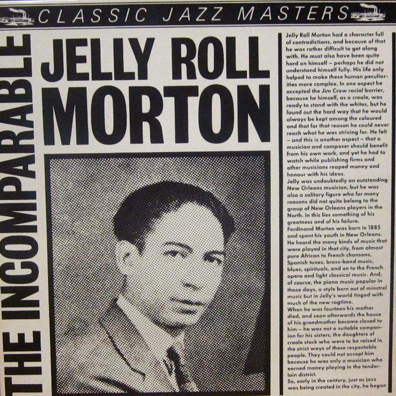 Jelly Roll Morton-The Incomparable-Classic Jazz-Vinyl LP