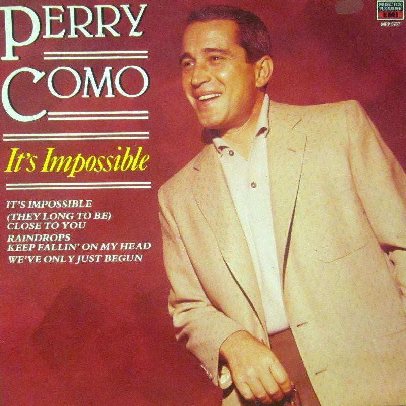Perry Como-It's Impossible-Music For Pleasure-Vinyl LP