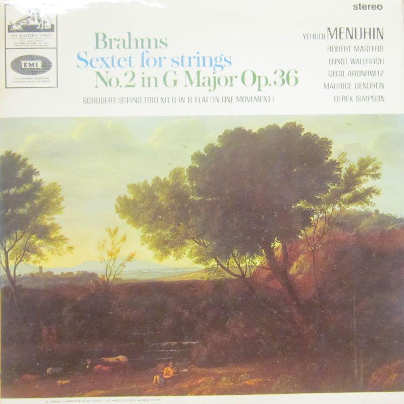 Brahms-Sextet For Strings-HMV-Vinyl LP