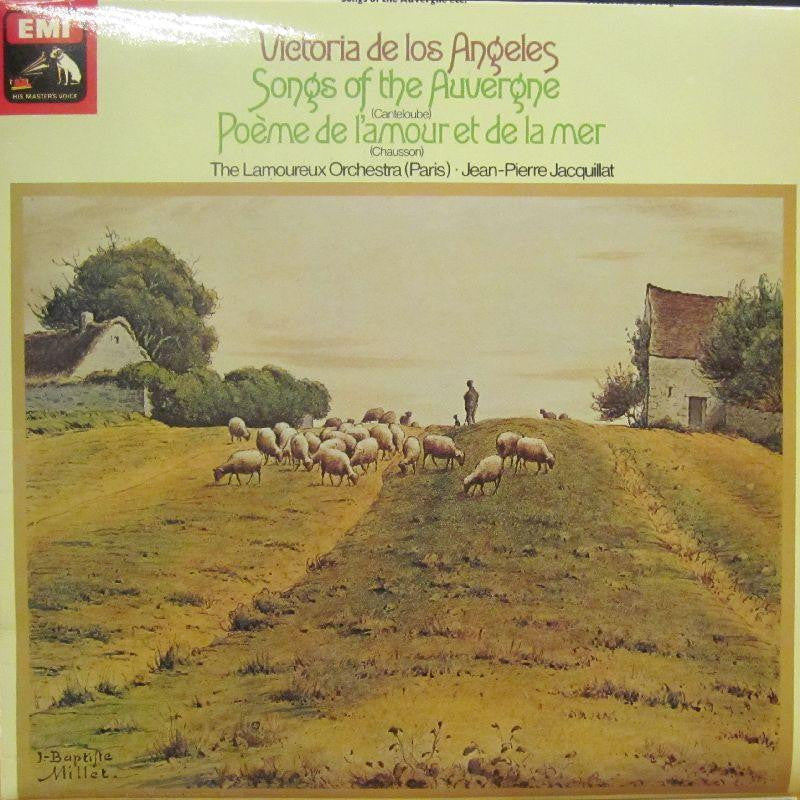 Victoria De Los Angeles-Songs Of The Auvergne-HMV-Vinyl LP