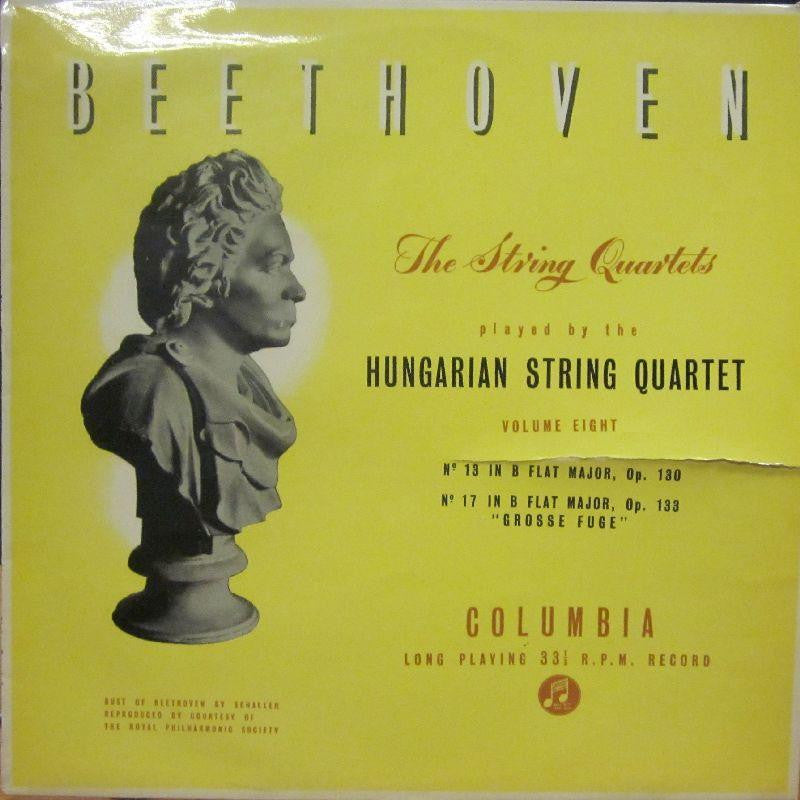 Beethoven-The String Quartets Vol.8-Columbia-Vinyl LP