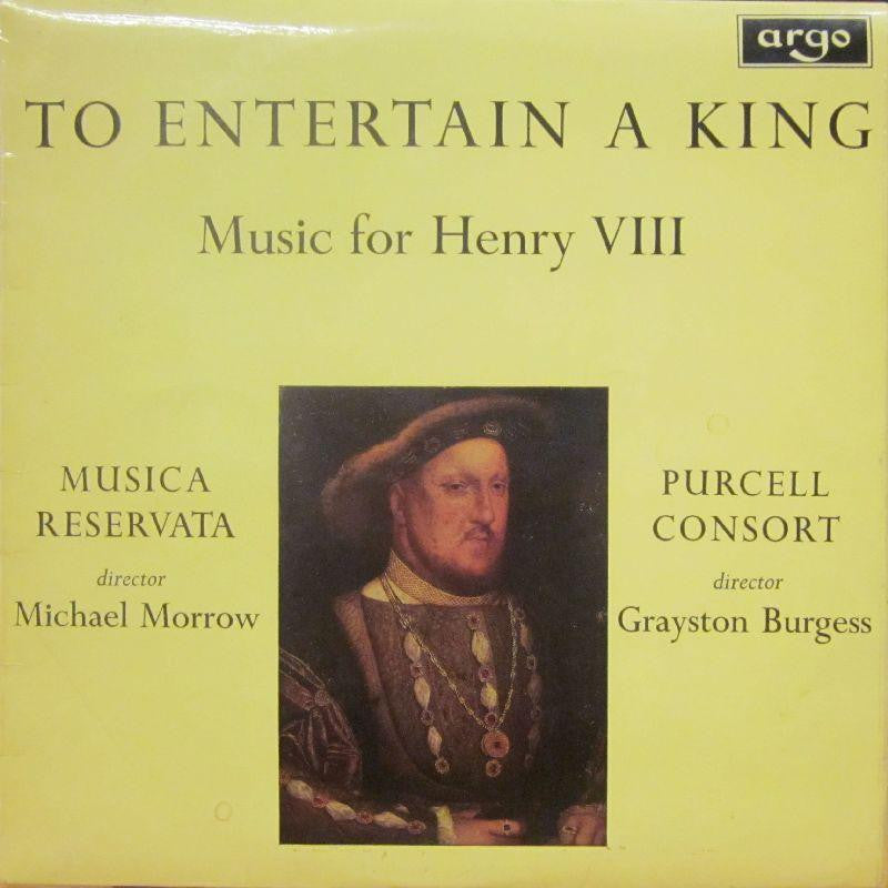 Musica Reservata/Purcell Consort-To Entertain A King-Argo-Vinyl LP