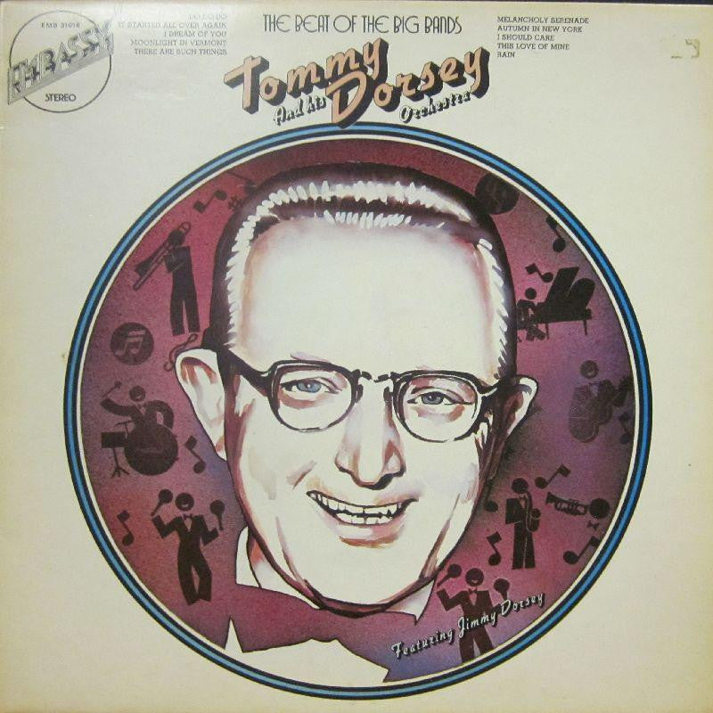 Tommy Dorsey-The Beat Of The Big Bands-Embassy-Vinyl LP