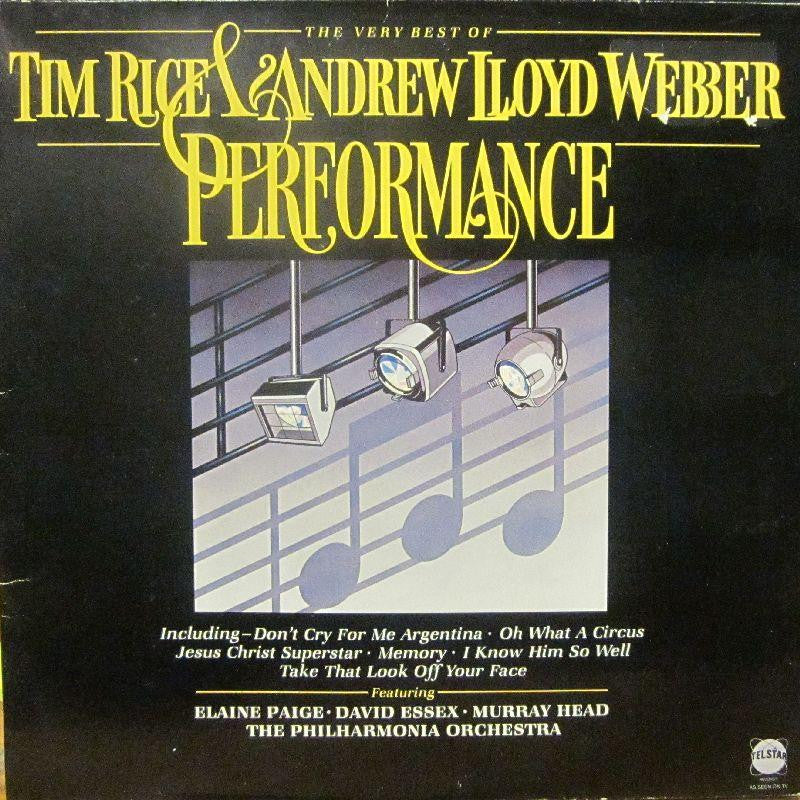Tim Rice/Andrew Lloyd Webber-Performance-Telstar-Vinyl LP Gatefold
