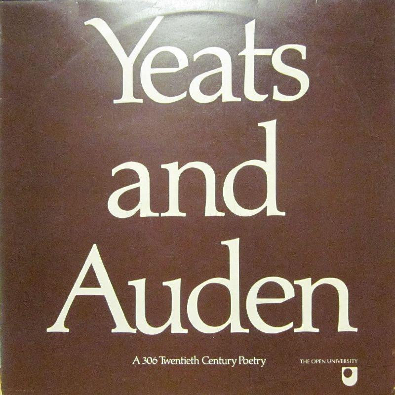 Yeats And Auden-Yeats And Auden-Open University-Vinyl LP