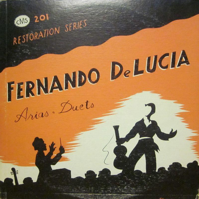 Fernando De Luca-Arias And Duets-CMS-Vinyl LP