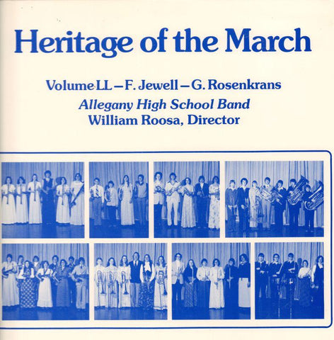 Allegany High School Band-Heritage Of The March Volume LL-Vinyl LP