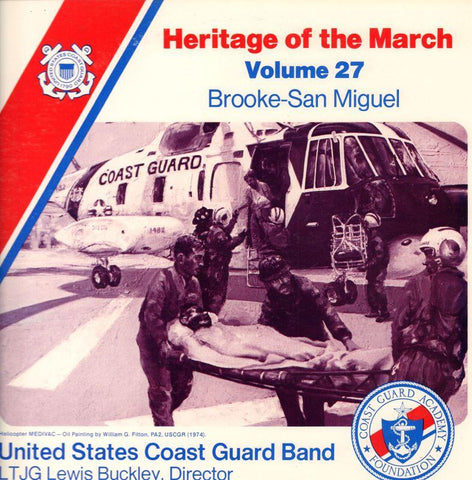 United States Coast Guard Band-Heritage Of The March Volume 27-Vinyl LP