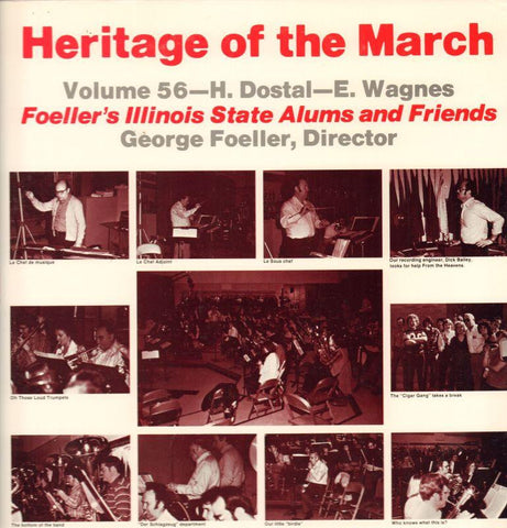 Foeller's Illinois State Alums And Friends-Heritage Of The March Volume 56-Vinyl LP