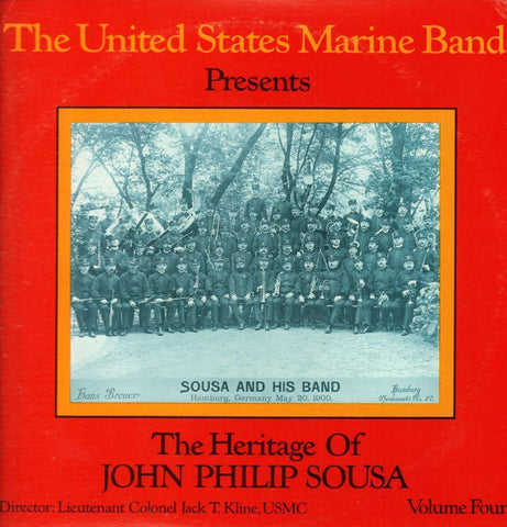 "The United States Marine Band-The Heritage Of John Philip Sousa Volume Four-2x12"" Vinyl LP Gatefold"