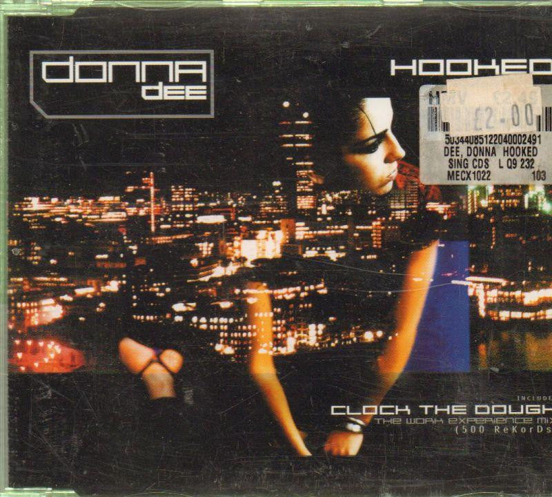 Donna Dee-Hooked-CD Single
