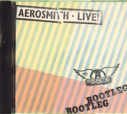 Aerosmith-Live Bootleg-CD Album