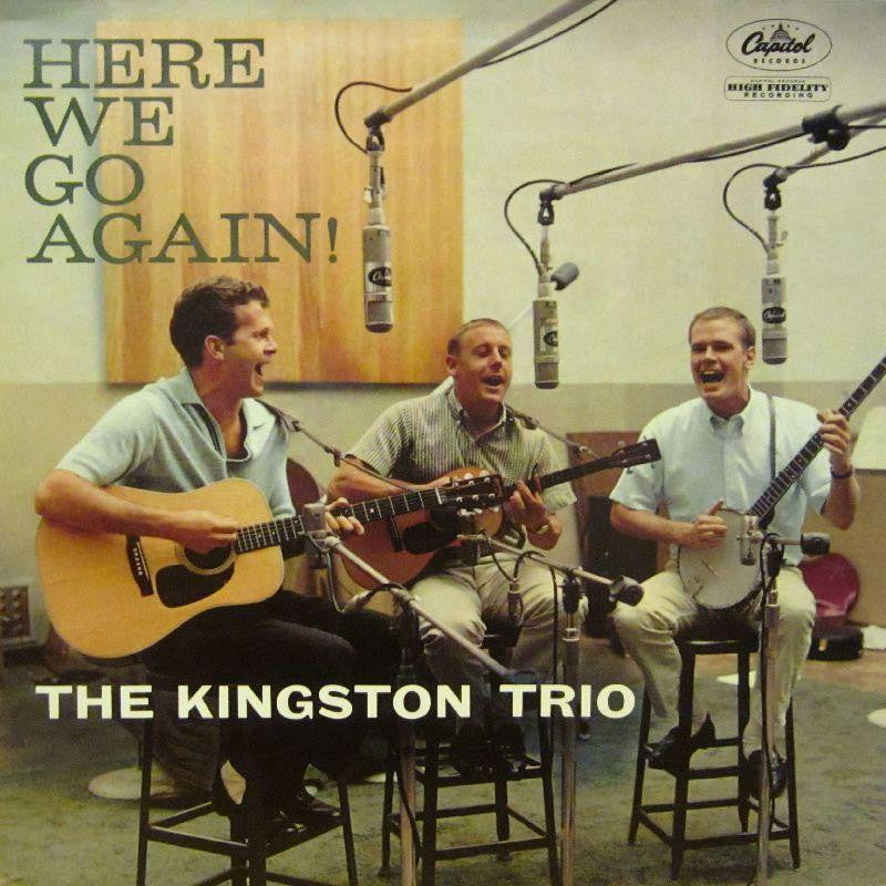 The Kingston Trio-Here We Go Again-Capitol-Vinyl LP