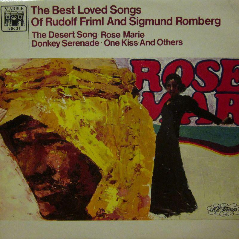 Rudolf Friml And Sigmund Romberg-The Best Loved Songs-Marble Arch-Vinyl LP