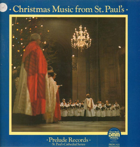 The Choir of st Pauls catherdal-Christmas Music-Prelude-Vinyl LP
