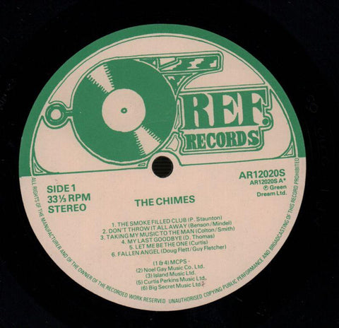 The Chimes-The Chimes-Ref-Vinyl LP-VG/Ex-