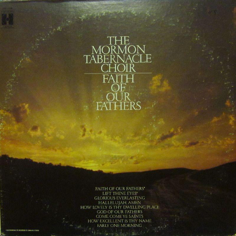 The Mormon Tabernacle Choir-Faith Of Our Fathers-Harmony House-Vinyl LP