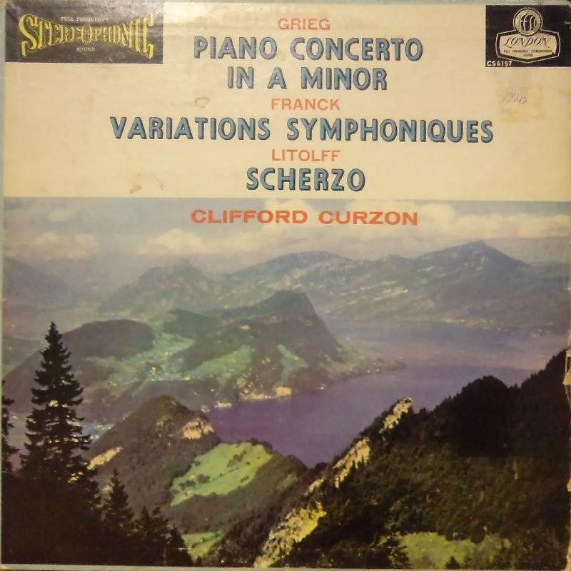 Grieg-Piano Concerto In A Minor-London-Vinyl LP