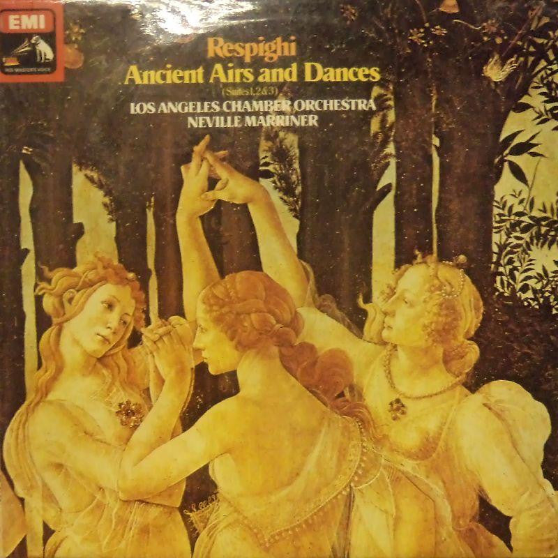 Respighi-Anicent Airs And Dances-HMV-Vinyl LP