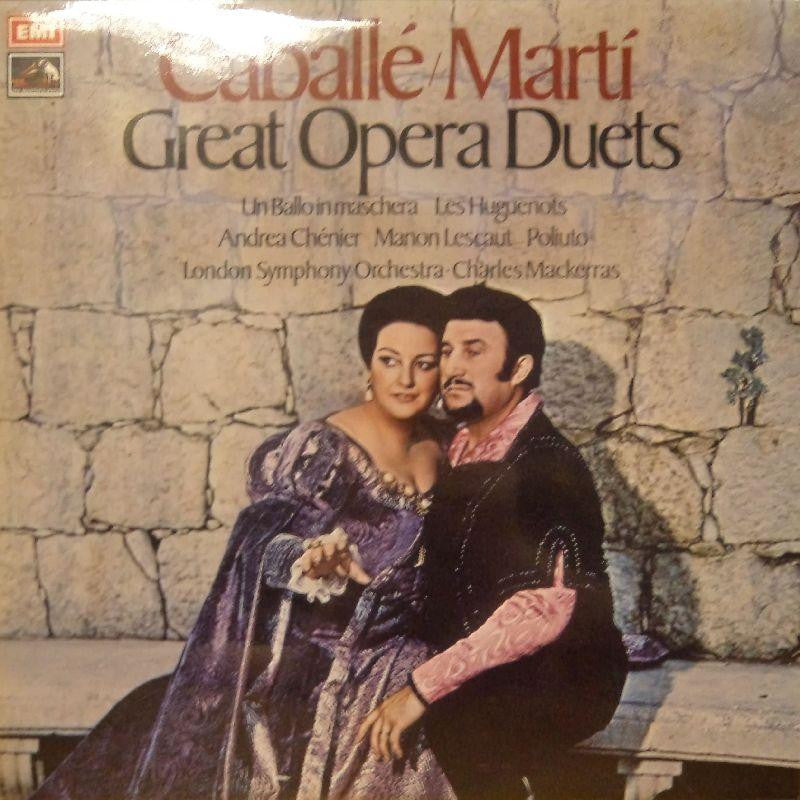 Caballe Marrti-Great Opera Duets-HMV-Vinyl LP