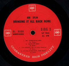 Bringing It All Back Home-CBS-Vinyl LP-VG/VG+