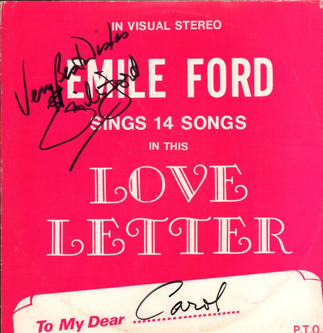 Emile Ford-Love Letter-Interclub-Vinyl LP