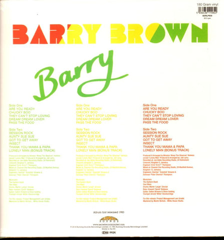 Barry-Secret-Vinyl LP-M/M