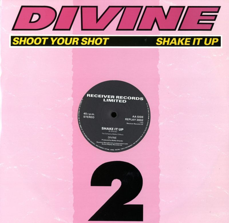 "Shoot Your Shot - Shake It Up-Receiver-12"" Vinyl"