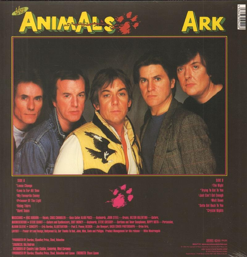 Ark-Secret-Vinyl LP-NM/M
