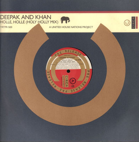 "Deepak And Khan-Holle, Holle-Circa-12"" Vinyl"