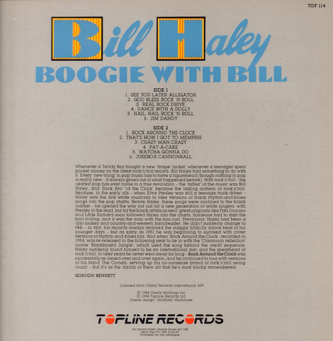 Bill Haley-Boogie With Bill-Topline-Vinyl LP-NM/NM