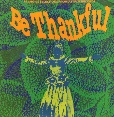 Various Reggae-Be Thankful-Attack-Vinyl LP