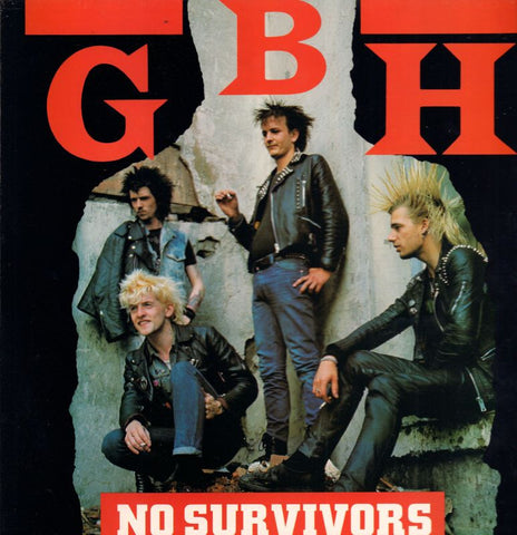 G.B.H.-No Survivors-Clay-Vinyl LP
