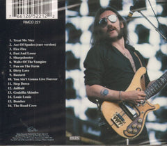 Motorhead-Motorhead-Rialto-CD Album-New & Sealed