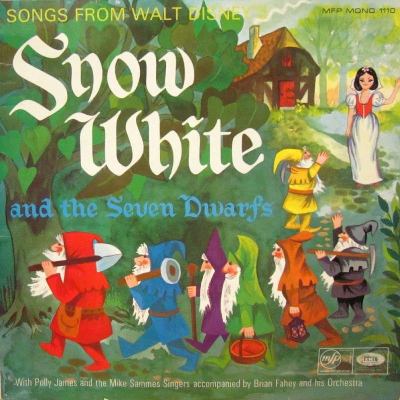 Polly James And The Mike Sammes Singers-Snow White-Music For Pleasure-Vinyl LP