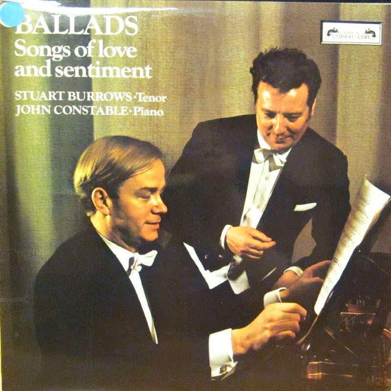Stuart Burrows/John Constable-Ballads-Songs Of Love And Sentiment-L'Oiseau Lyre-Vinyl LP
