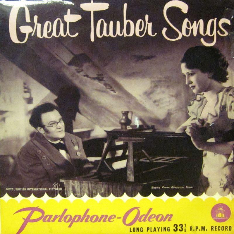 "Tauber-Great Tauber Songs-Parlophone/Odeon-10"" Vinyl"