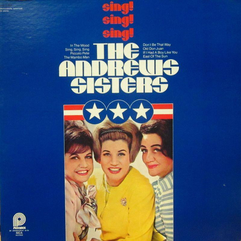 The Andrews Sisters-Sing Sing Sing-Pickwick-Vinyl LP
