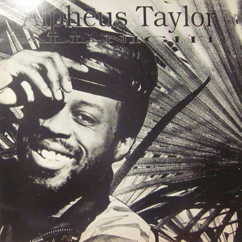 "Alpheus Taylor-All Night-Mega-12"" Vinyl"