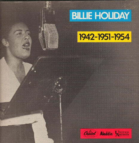 Billie Holiday-1942-1951-1954-Capitol-Vinyl LP