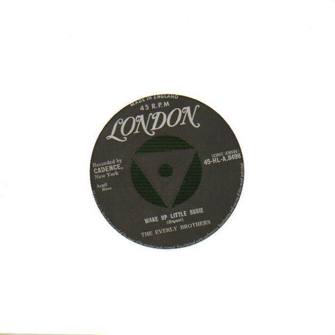 "Wake Up Little Susie / Maybe Tomorrow-London-7"" Vinyl"