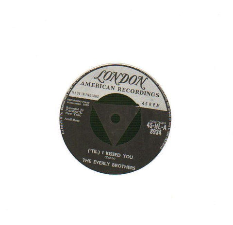 "I Kissed You / Oh, What A Feeling-London-7"" Vinyl"