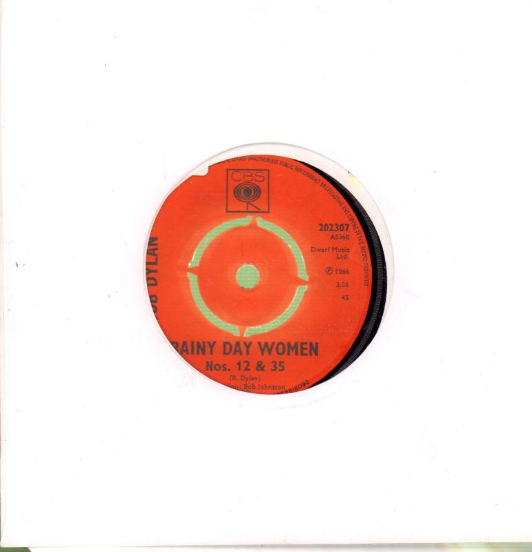 "Rainy Day Women-CBS-7"" Vinyl"