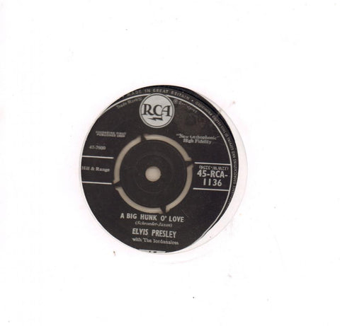 "A Big Hunk O'Love-RCA-7"" Vinyl"