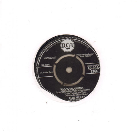 "Wild In The Country-RCA-7"" Vinyl"