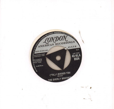 "I Kissed You-London-7"" Vinyl"