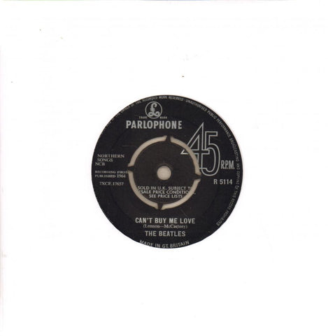 "Can't Buy Me Love-Parlophone-7"" Vinyl"