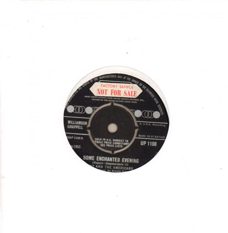 "Some Enchanted Evening-United Artist-7"" Vinyl"