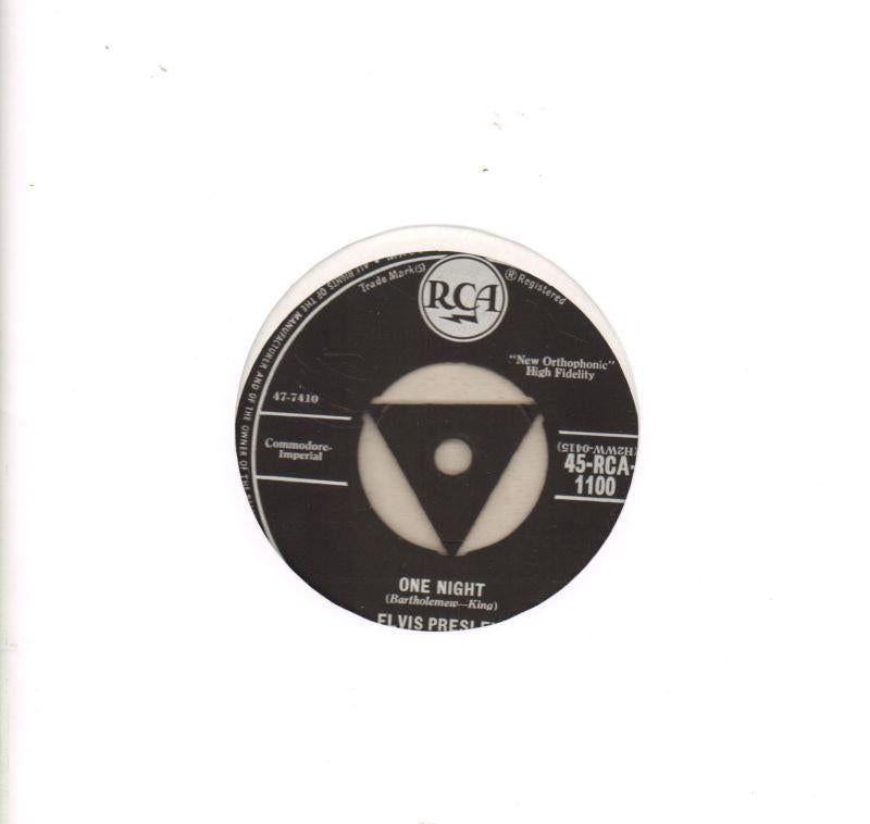 "One Night-RCA-7"" Vinyl"